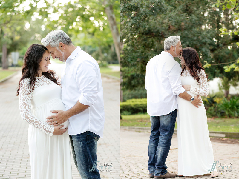winter park maternity photos